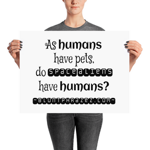 As Humans