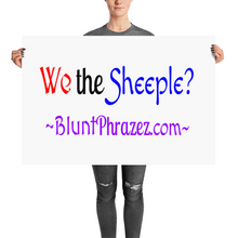We The Sheeple