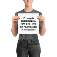 If Change Is