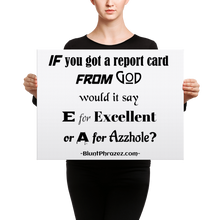 Report Card From God