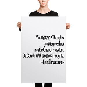 Most Dangerous Thoughts