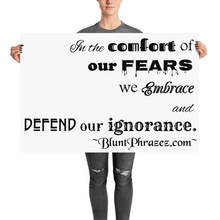 Comfort Of Our Fears