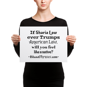 If Sharia Law
