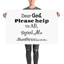Dear God Please