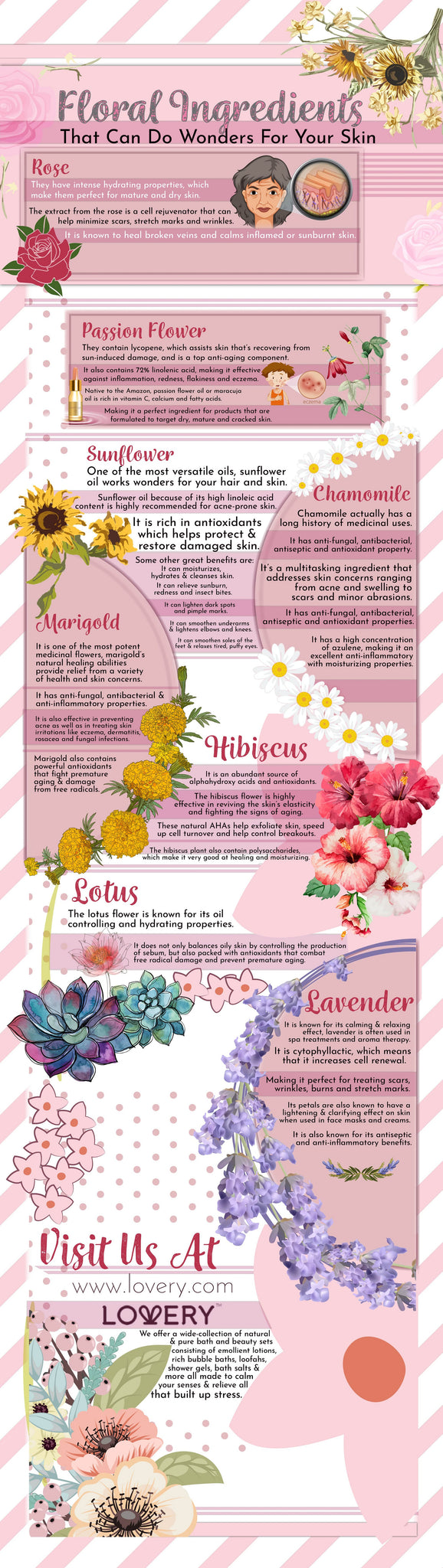 Floral ingredients that can do wonders for your skin