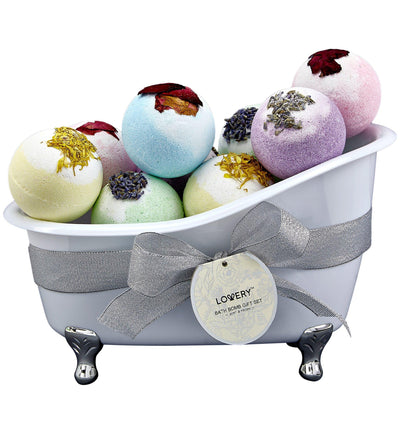 Almond Bath Bomb and Gift Set