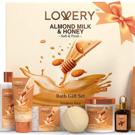 Almond Milk and Honey Spa Set (7PCS)