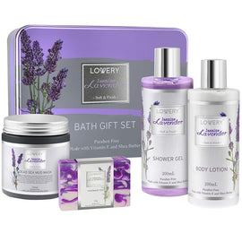 Jasmine Lavender Bath and Body Gift Set