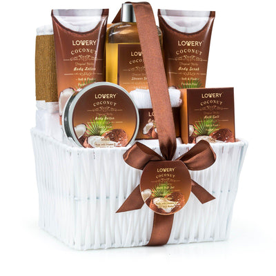 Tropical Milky Coconut Spa Bath & Body Gift Set - Lovery
