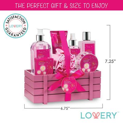 Flower & Dandelion Spa Bath & Body Gift Set - Lovery