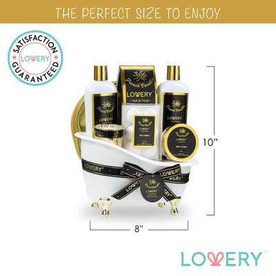French Vanilla Spa Bath and Body Gift Set - Lovery