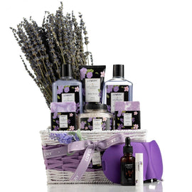 Lavender & Lilac Bath Set (10PCS)