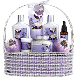 Lavender and Coconut Bath Set (10PCS)