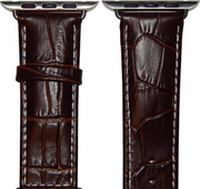 Crocodile 42mm Apple Watch Strap - HerbertWayne