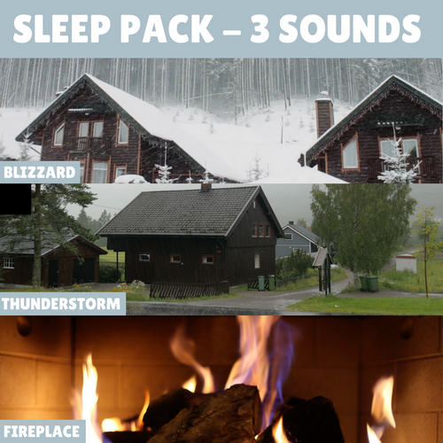 MP3 Sleep Pack (3 Relaxing Nature Sounds)