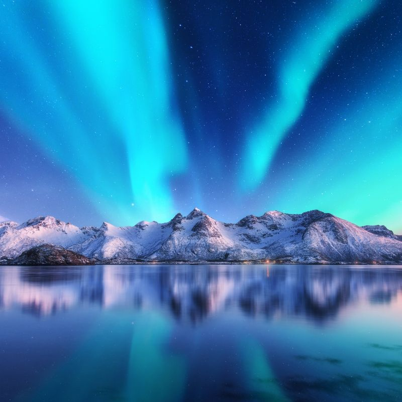 Northern Lights Solstice Meditation Music 1 Hour MP3