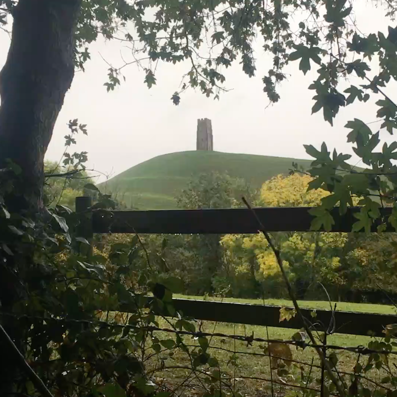 Soothing Rain Sounds in Glastonbury MP3