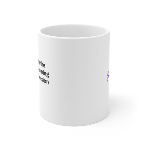Fall in love with the process - Mug