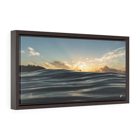 Morning Glass - Framed Premium Gallery Wrap Canvas