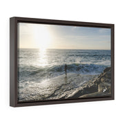 Sunrise Over Sea - Framed Premium Gallery Wrap Canvas