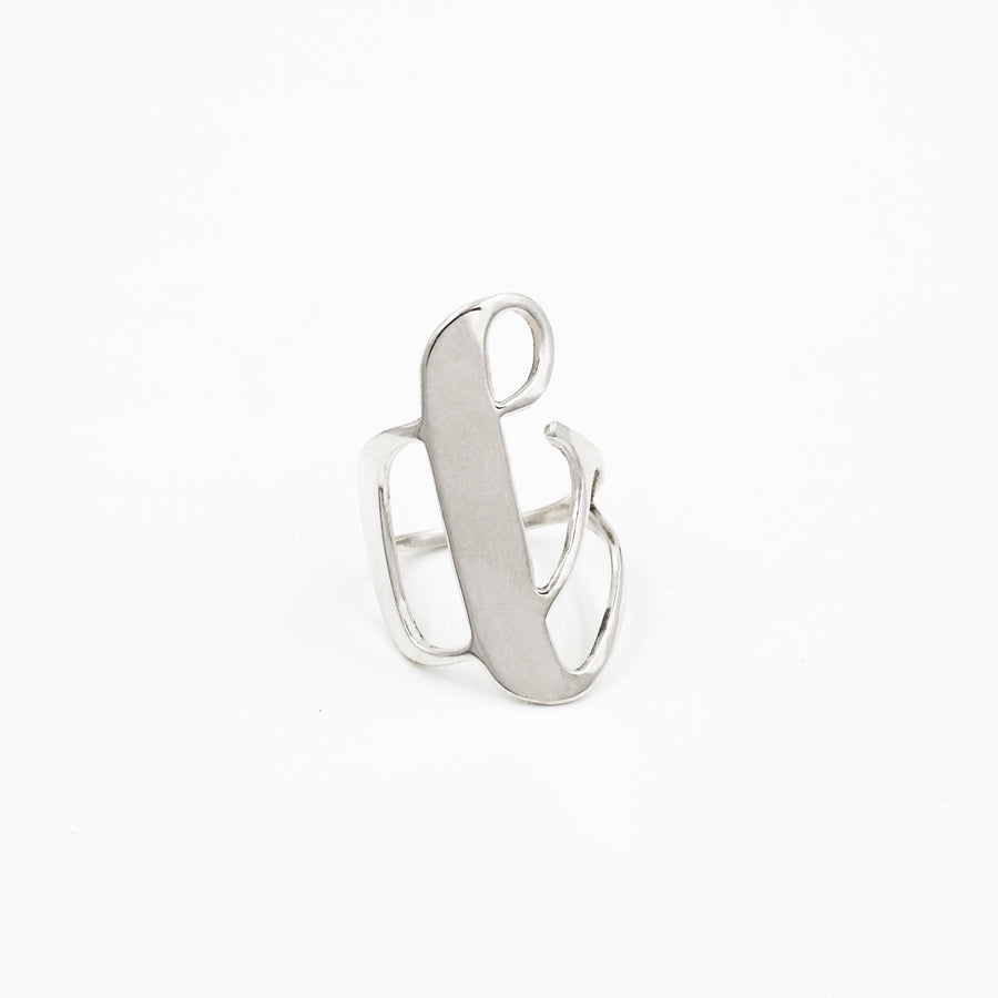 Ampersand Ring - Made to order