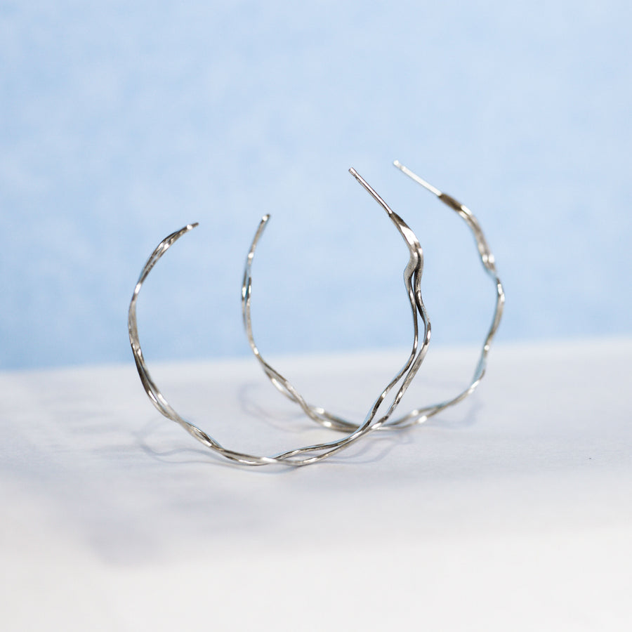 Pacific Hoop Earrings - Made to order