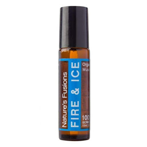 FIRE & ICE ROLL-ON WITH ORGANIC COCONUT OIL -10ml