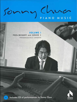 SONNY CHUA PIANO MUSIC VOL 1 BK/CD