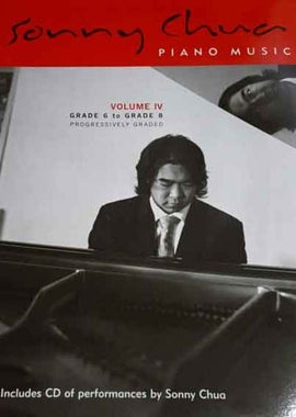 SONNY CHUA PIANO MUSIC VOL 4 BK/CD