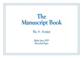 MANUSCRIPT BK 4 INTERLEAVED RECYCLED 24PP 6 STAV