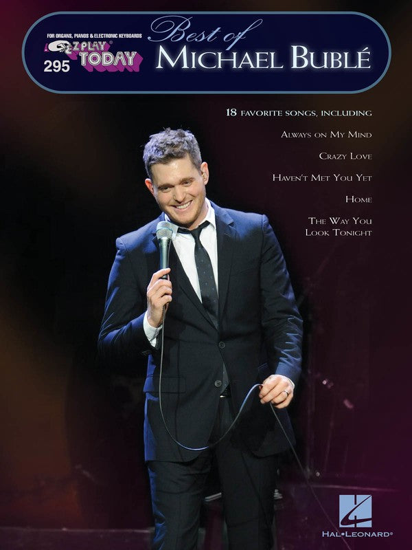 EZ PLAY 295 BEST OF MICHAEL BUBLE