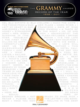 EZ PLAY 160 GRAMMY AWARDS RECORD YEAR 1958-2011