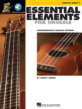 ESSENTIAL ELEMENTS FOR UKULELE BK 1 BK/OLA EE