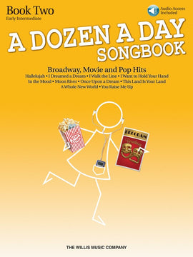 A DOZEN A DAY SONGBOOK - BOOK 2 BK/CD