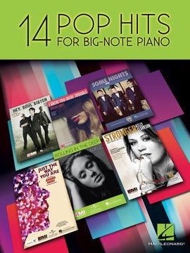 14 POP HITS BIG NOTE PIANO