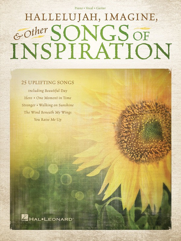 HALLELUJAH IMAGINE & OTHER SONGS OF INSPIRATION PVG