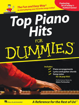 TOP PIANO HITS FOR DUMMIES PVG