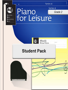 PIANO FOR LEISURE GRADE 2 SERIES 4 STUDENT PACK