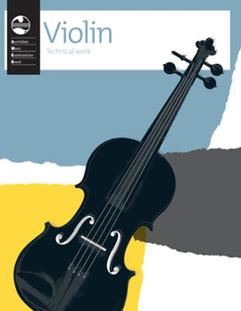VIOLIN TECHNICAL WORKBOOK 2011 AMEB