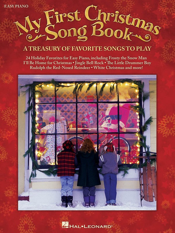 MY FIRST CHRISTMAS SONGBOOK EASY PIANO