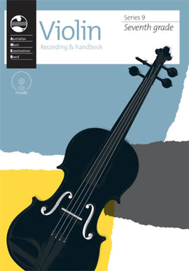 AMEB VIOLIN GRADE 7 SERIES 9 CD/HANDBOOK