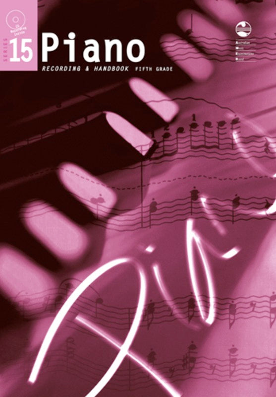 PIANO GRADE 5 SERIES 15 CD/HANDBOOK AMEB