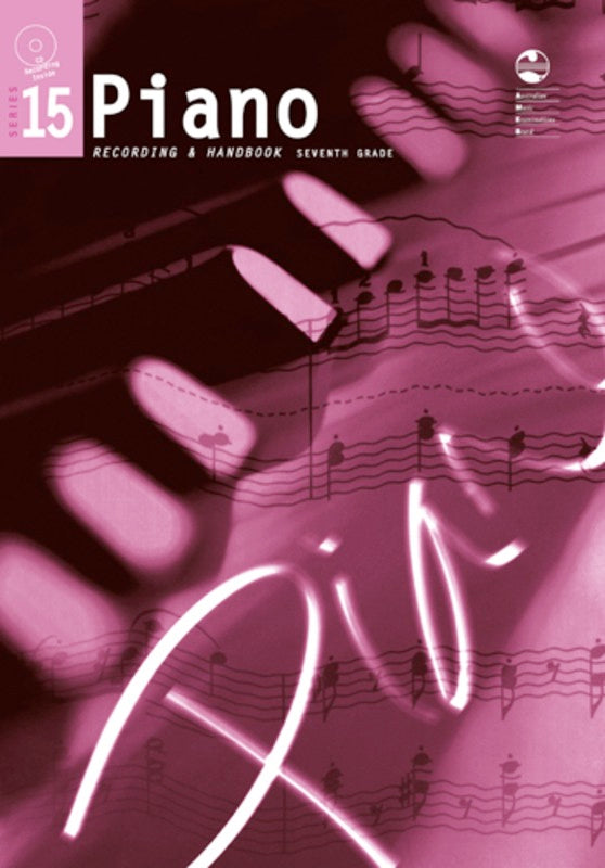 PIANO GRADE 7 SERIES 15 CD HANDBOOK AMEB