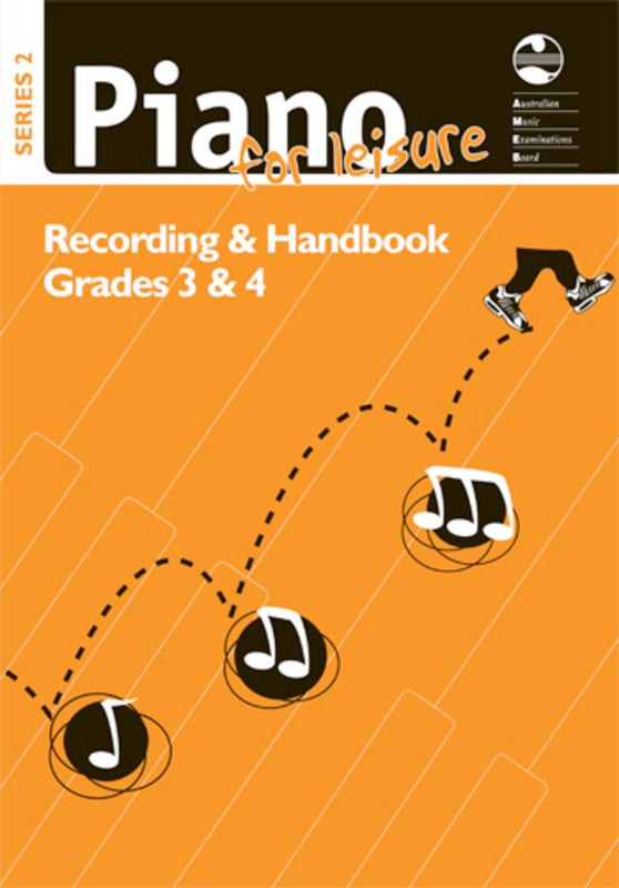 Piano For Leisure Grade 3 & 4 Series 2 CD Recording Handbook