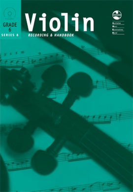 VIOLIN GRADE 6 SERIES 8 CD/HANDBOOK