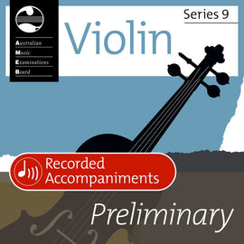 VIOLIN PRELIMINARY SERIES 9 RECORDED ACCOMP CD