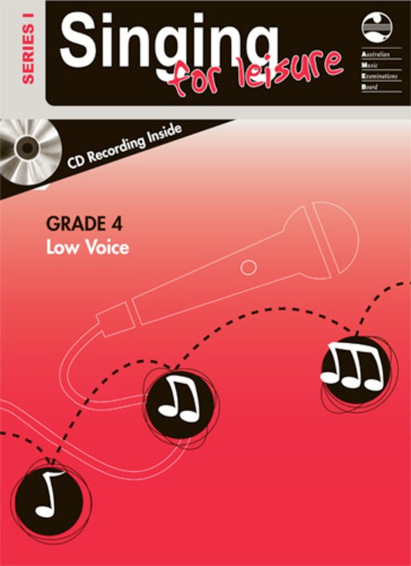 SINGING FOR LEISURE BK/CD GRADE 4 LOW SERIES 1