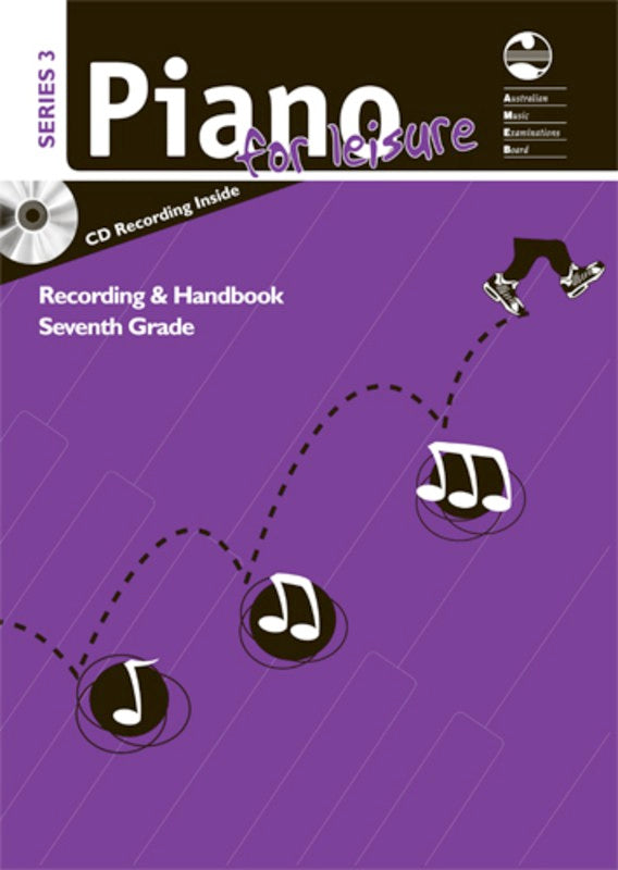AMEB PIANO FOR LEISURE GRADE 7 SERIES 3 CD HANDBOOK