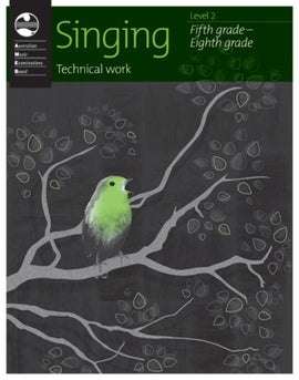 SINGING TECHNICAL WORK LEVEL 2  2010 AMEB