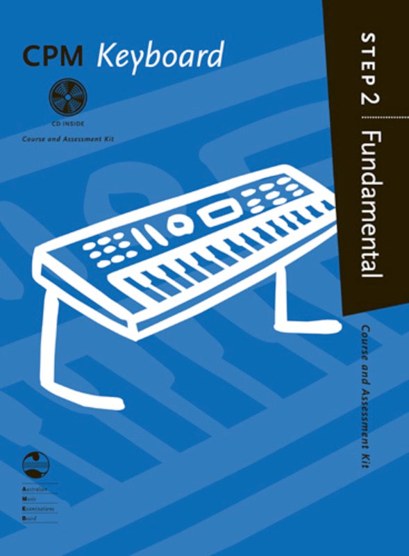 CPM KEYBOARD FUNDAMENTAL STEP 2 BK/CD AMEB